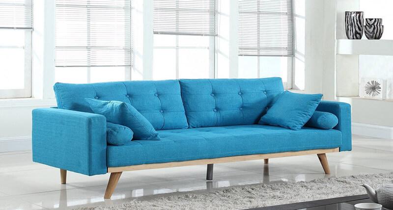 Canapea albastra
