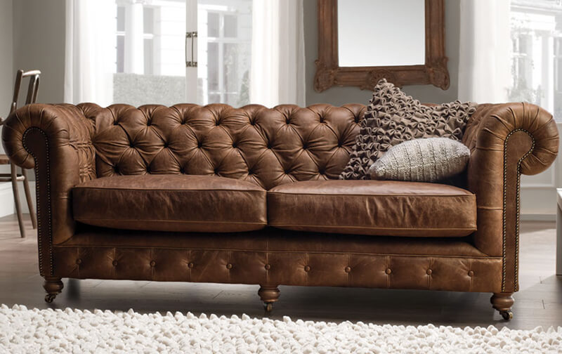 Canapea eleganta stil chesterfield