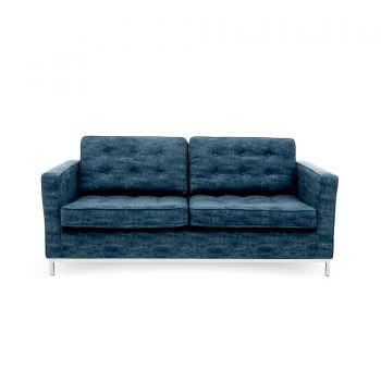 Canapea Fixa 3 locuri Ben Dark Blue