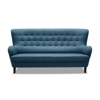 Canapea Fixa 3 locuri Fifties Blue