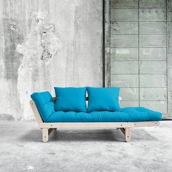 Canapea extensibilă Beat Beech/Horizon Blue