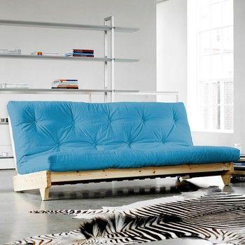Canapea extensibilă Karup Fresh Raw/Horizon Blue