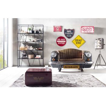 Canapea retro automobil Farland Brown