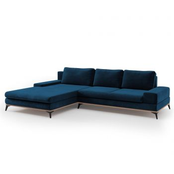 Coltar extensibil stanga Astre Royal Blue - Windsor & Co, Albastru