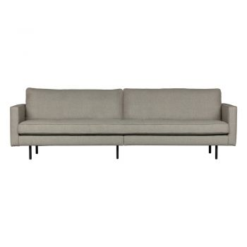 Canapea BePureHome Rodeo, 277 cm, gri deschis