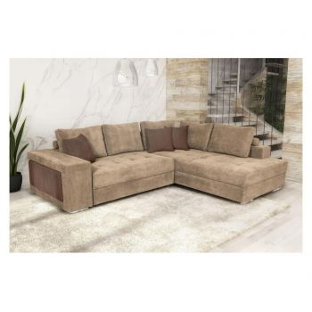 Coltar extensibil dreapta Karina Light Brown