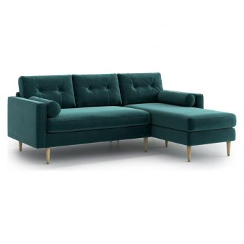 Coltar reversibil Esme Duck Egg - Optisofa, Verde