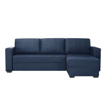 Canapea cu șezlong partea dreaptă Interieur De Famille Paris Succes, albastru fixa