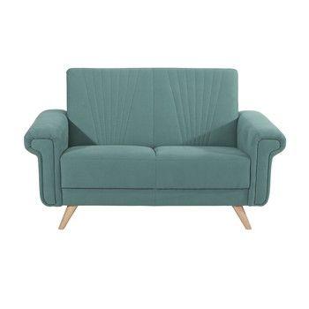 Canapea cu 2 locuri Max Winzer Jannes, albastru fixa