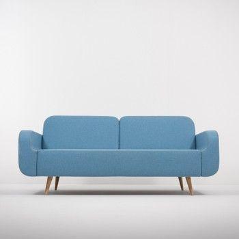 Canapea Gazzda Ena, albastru fixa