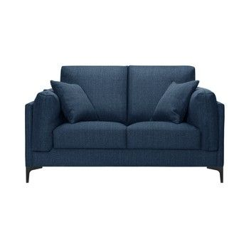 Canapea pentru 2 persoane Guy Laroche Desire, albastru fixa