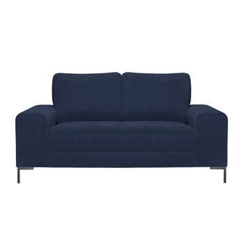 Canapea pentru 2 persoane Guy Laroche Harmony, albastru fixa