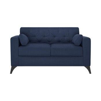 Canapea pentru 2 persoane Guy Laroche Vanity, albastru fixa