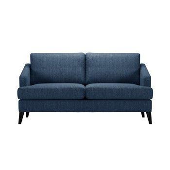 Canapea pentru 3 persoane Guy Laroche Muse, albastru fixa