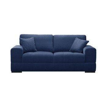 Canapea pentru 3 persoane Guy Laroche Passion, albastru fixa