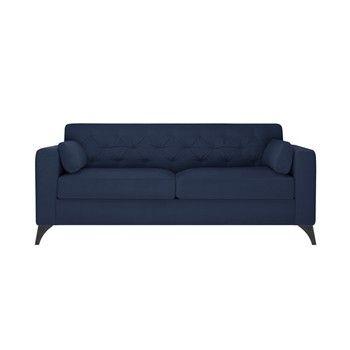 Canapea pentru 3 persoane Guy Laroche Vanity, albastru fixa