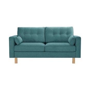 Canapea pentru 3 persoane Stella Cadente Lagoa, albastru fixa