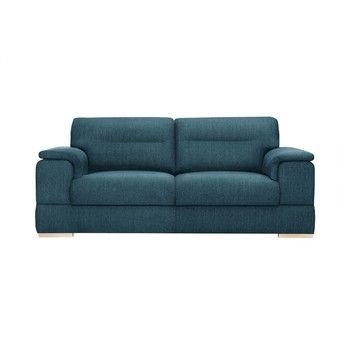 Canapea pentru 3 persoane Stella Cadente Madeiro, albastru fixa