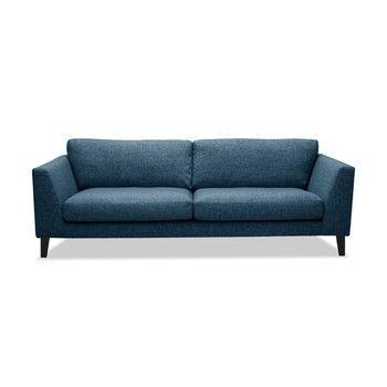 Canapea cu 3 locuri Vivonita Monroe, albastru fixa