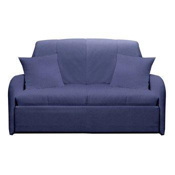 Canapea extensibilă cu 2 locuri 13Casa Paul, albastru gri fixa