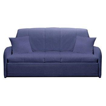 Canapea extensibilă cu 3 locuri 13Casa Paul, albastru gri fixa