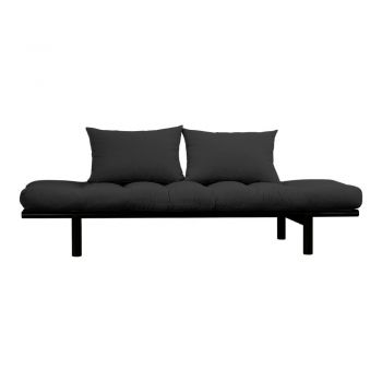 Canapea Karup Design Pace Black/Dark Grey